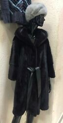 Mink Fur Coat For Women Brand New With Tags 100 Real Size Xsmall-small