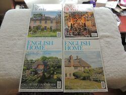 Lot Of English Home Homes Antiques Magazines, 77, 78, 87, 88 Years 2012 And 2014
