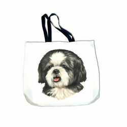 Shih Tzu Puppy Cut Tote Bag $26.95