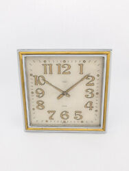 Omega Table Clock With 8 Days Movement Art Deco 1927