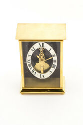 Jaeger Lecoultre Table Clock With 8 Day Baguette Inline Movement
