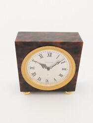 Jaeger Lecoultre Table Desk Clock With 8 Days Movement Striking Function