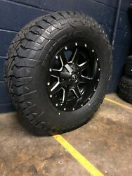 17x9 D538 Fuel Maverick 33 At Wheel Tire Package 6x135 Ford F150 Expedition Tpm