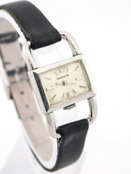 Beautiful Jaeger Lecoultre Drivers Watch For Ladies 1940s