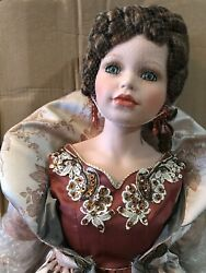 Porcelain Doll William Tung Collection 32andrdquo Verna Numbered 154/1000 New Vintage