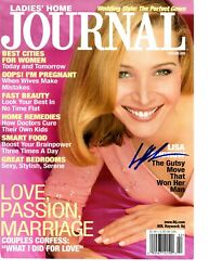 Lisa Kudrow Signed Magazine Ladies Home Journal Cover Rare L@@k Proof Friends