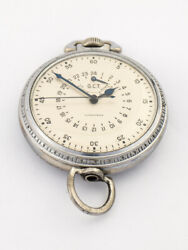 Beautiful Longines Us Army Military Pocket Watch From The 40ties