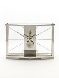 Jaeger Lecoultre Table Clock With 8 Day Baguette Movement