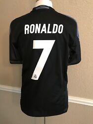 Real Madrid Spain Ronaldo 8 Cl Juventus Player Issue Shirt Football Jersey