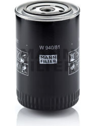 Mann Oil Filter [ref Ryco Z9] For Ford Cortina Td W 940/81