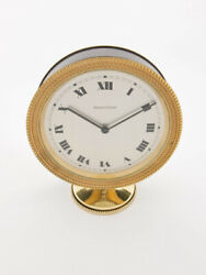 Jaeger Lecoultre Table Clock With 8 Day Movement And Striking Function 1960