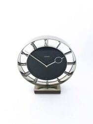 Art Deco Design Jaeger Lecoultre Table Clock 8 Day Movement Made In The 60's