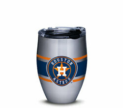 Brand New Mlb® Houston Astros™ Stripes Stainless Steel With Hammer Lid