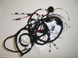 Bsa D1- D7 Wiring Harness Battery Lighting With Twin Wipac Socket Sub Looms