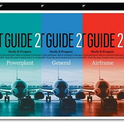 Asa Amt Test Guide Bundle Airframe Powerplant General Free Shipping