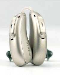Hearing Aids-phonak Marvel 30 Recharge. Or 312 Battery-pair-programming-warranty