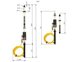 Multisafe Dsp 3hs36 Voltage Detector And Safety Rod Kit Engineering Electrical