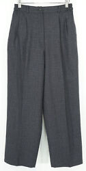 Gently Loved Collectible Gold By Giorgio Santand039angelo Grey Checked Trouserssz.8