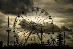102407 All The Fun Of The Fair Chris Lord Ferris Wheel Laminated Poster Us