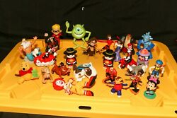 Disney Mcdonalds Misc Characters Cat In The Hat- Ronald-incredibles 24 Lot