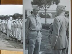 Us Signal Corps Photos 4 Star General 12th Army Group Asian Integrated Company