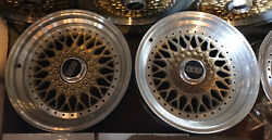 2 Wheels = Pair Of Mercedes 9x16 Et11 Bbs Rs 008 Rs008 Modified Like Rs078 078