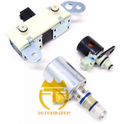 3pc 4r70w 4r75w Solenoid Solenoid Set Shift / Epc / Tcc For 98-04 Ford F150