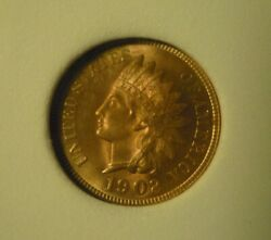 1902 Indian Head Cent Appears A Wonderful Red Gem++ A Beauty...