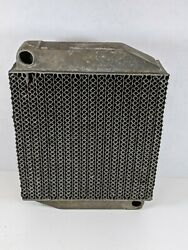 Vintage Radiator Core Aircraft Airplane Engine Oil Heating Cooling System Parts