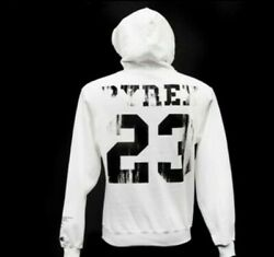 Pyrex Vision Hoodie Off-white By Virgil Abloh Disstressed Religion Hoodie.
