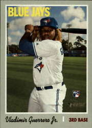 Toronto Blue Jays 2019 Topps Heritage Low And High Team Set 22 Card Guerrero Jr Rc