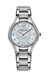 Raymond Weil Noemia Mother Of Pearl Dial Stainless Steel Diamond Ladies Watch