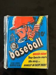 1971 Unopened Topps Opc Baseball Cards Wax Pack 8/9/ Gem