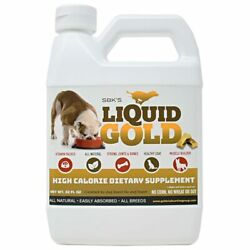 SBK#x27;S LIQUID GOLD FOR DOGS High Calorie Dietary Supplement 32 oz $25.00