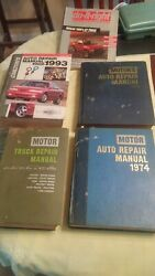 Total Of 5 Auto Repair Manuals Please See Pic's No Returns