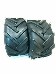 Two 18x9.50-8 Lug R1 Lawn Tractor Tires Lug Ag Lawn Tractor Tires 18 950 8