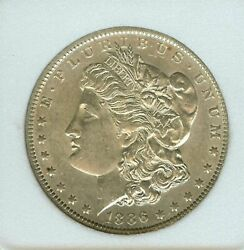 1886 O Morgan Silver Dollar Appears A Nice Uncirculated And Very Old Coin