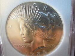 1935  Peace Silver Dollar  Appears To Be A Gem+ Rare This Nice...