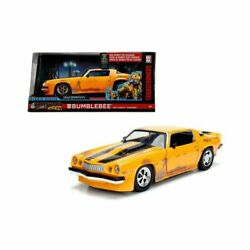 Yellow 124 Hollywood Rides 1977 Chevrolet Chevy Camaro Transformers Bumblebee