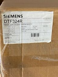 Siemens Dtf324r Double Throw Safety Switch
