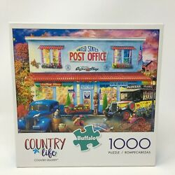 Buffalo Games Country Life 1000 Piece Puzzle With Poster - Country Delivery
