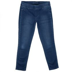 Calvin Klein Denim Legging Size 30 Pull On Womens Blue Jeans Stretch Mid Rise $16.00