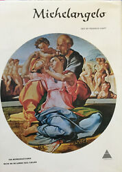 Michelangelo Text By Frederick Hartt 134 Reproductions W/48 In Large Full Color