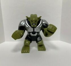 Lego Green Goblin Minifigure Authentic 76016 Spider-man Super Heroes