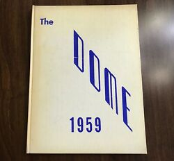 1959 The Dome Johns Hopkins Hospital School Of Nursing Yearbook