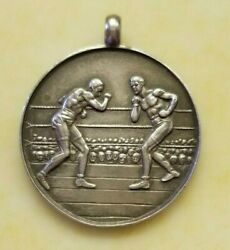 Vintage Boxing Pendant From 1931 Very Rare