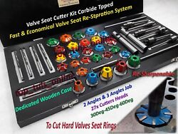 Racer-3-angle-valve-job-seat-cutter-kit-carbide-tipped-re-sharpen-able-performer