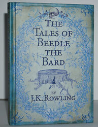 Signed Fine 1st/1st Edition The Tales Of Beedle The Bard J.k. Rowling