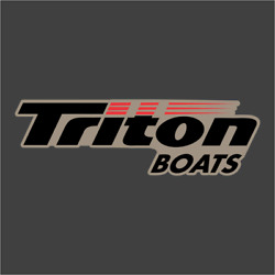 Triton Boats Brown Carpet Graphic Decal Sticker For Fishing Bass Boats 700-107