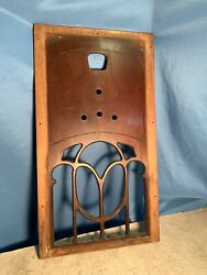 Original 1931 Philco 90 Highboy Console Floor Model Front Panel And Grill